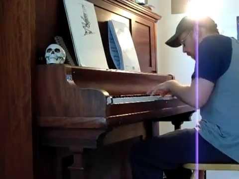 "Piano Improvisation #5 - ""Ape Roar in Prosimian Dimension"""