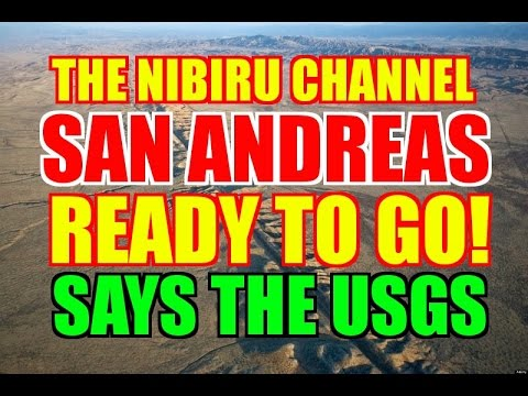 "SAN ANDREAS FAULT ""READY TO GO"" SAYS THE USGS!"
