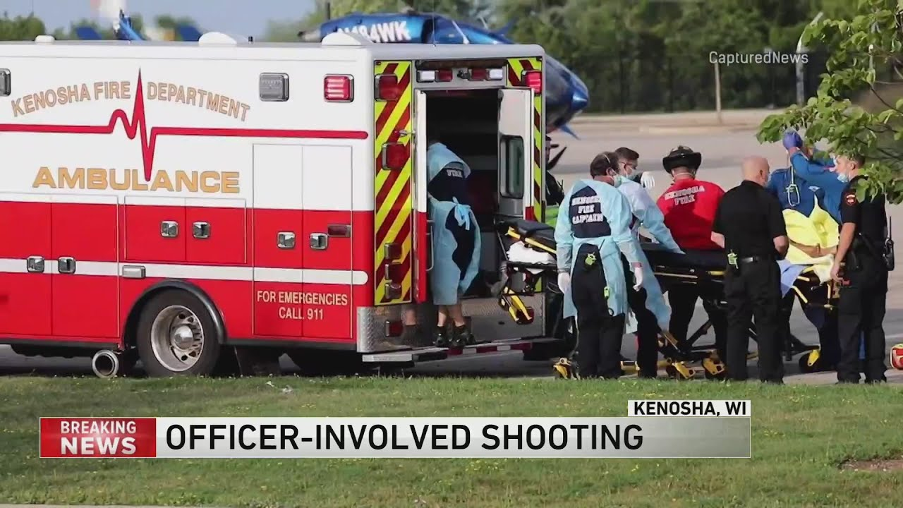 Man shot by police in Kenosha, incident caught on video