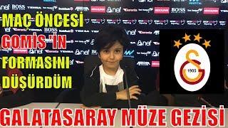 MAÇ ÖNCESİ GOMİS 'İN FORMASINI DÜŞÜRDÜM !! Sado 'nun Galatasaray Stadyum Müze Gezisi