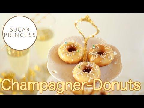 Donuts einfach selber machen - Rezept für Silvester   Sugarprincess