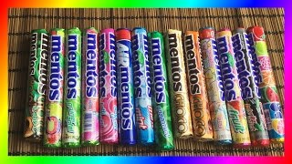 Top 10 Mentos Flavors (Bubble Gum, Chocolate & more)