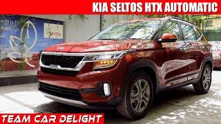Kia Seltos Htx Ivt Detailed Walkaround,on Road Price | Seltos Htx Review
