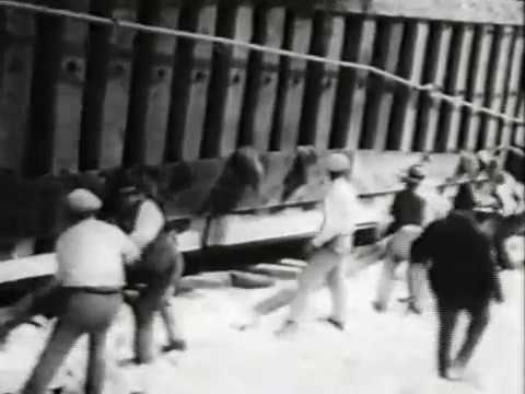 MONOLITE 1929 CAVE DI MARMO DI CARRARA LIZZATURA ISTITUTO LUCE