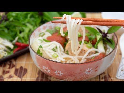 Fish Rice Noodle Soup (Bun Ca)
