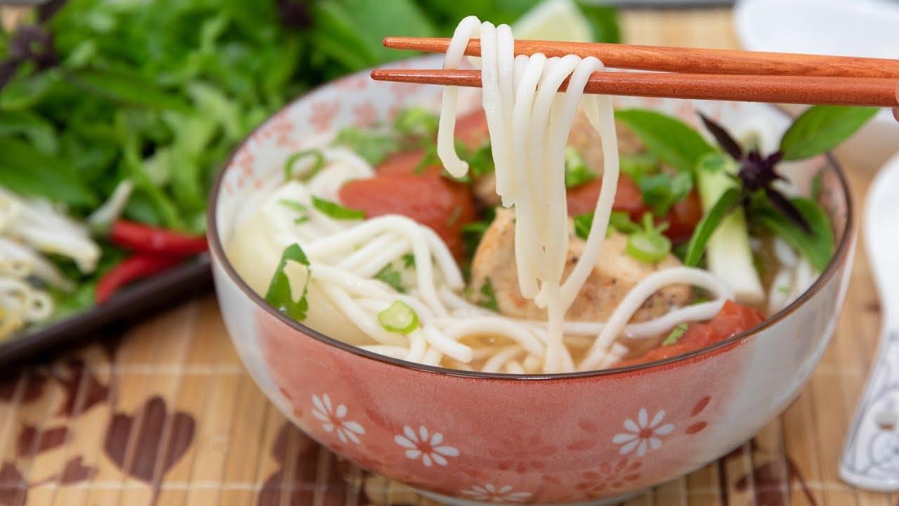 Fish Rice Noodle Soup Bun Ca Youtube