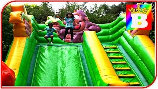 Jungle Outdoor Playground. Fun Family Play Place for Kids.  Play Center Outdoor at Bogdan`s Show
