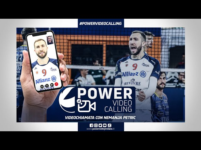Power Video Calling, videochiamata con Nemanja Petric
