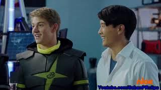 Power Rangers Super Ninja Steel Ep 5 - Game Plan - Ranger s Ending Scene
