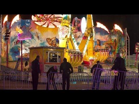5 Critical Vortex Ride Malfunction NC State Fair  Midway Runaway Ride Raleigh NC State Fair
