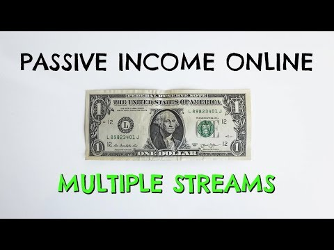 How To Make Passive Income Online From Multiple Streams 💰