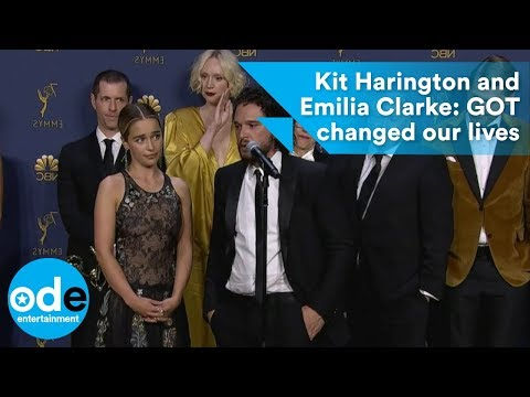 Kit Harington and Emilia Clarke: GOT changed our lives