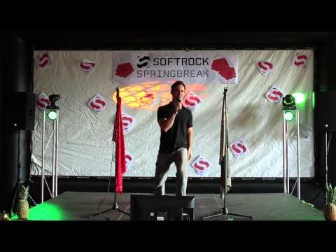 "Karaoke Night 04112014 70D Announcer does intro & performs ""Super Freak"""