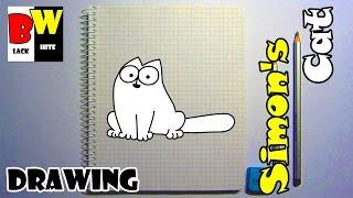 Рисуем карандашом КОТА САЙМОНА по клеточкам. Учимся рисовать КОТА карандашом.(Как нарисовать карандашом кота по клеточкам. Простые рисунки - кот. https://www.youtube.com/channel/UC5Jj1a2UN9GJJKrw73w62OQ/videos Боль..., 2017-01-03T10:42:49.000Z)