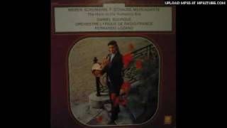 Gambar cover Daniel Bourgue plays 1st part Franz Strauss Concertino in C minor, Op. 8. Lp record.