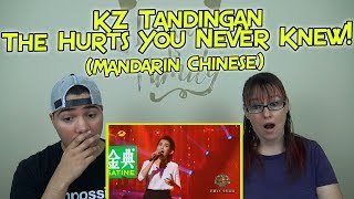 MOM & SON REACTION! KZ Tandingan The Hurts You Never Knew- Singer 2018 Epi 6 (Mandarin Chinese Song)