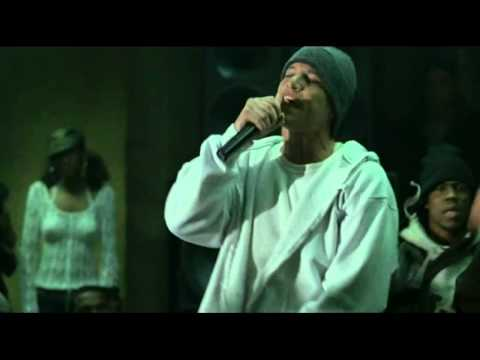 Scary Movie 3: George raps.