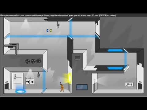 Portal Flash Game Level 11 20 Youtube