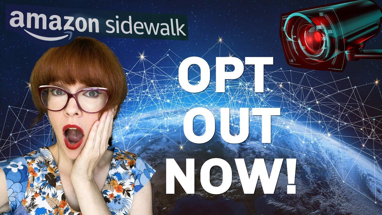 Amazon sidewalk... a surveillance network?