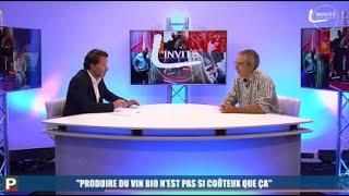 """L'invité vidéo - Pascal Lafond : """"Faire du vin bio n'est pas si coûteux que ça"""""""