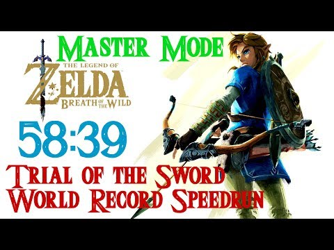 MASTER MODE - Trial of the Sword World Record Speedrun in 58:39