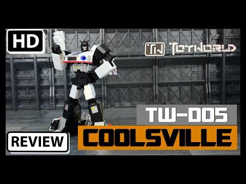 Toyworld TW-M05 Coolsville Transformers Masterpiece Jazz