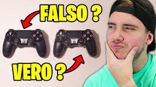 REAL VS FAKE CHALLENGE!! - Riesci ad indovinare quello VERO!?