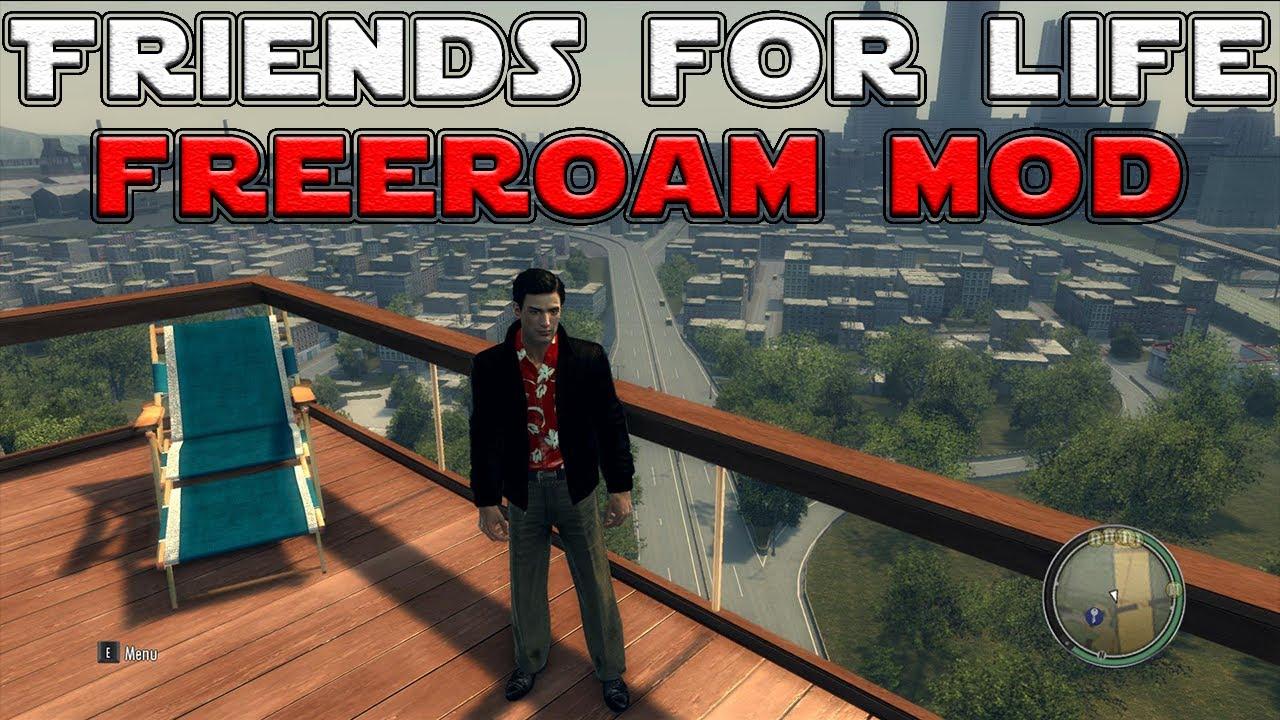 Mafia ii best mods friends for life (freeroam mod) друзья на всю.
