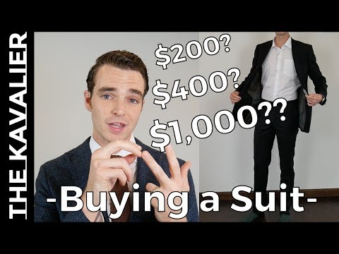 """What to Spend on Your First """"Nice"""" Suit - or Any Suit 