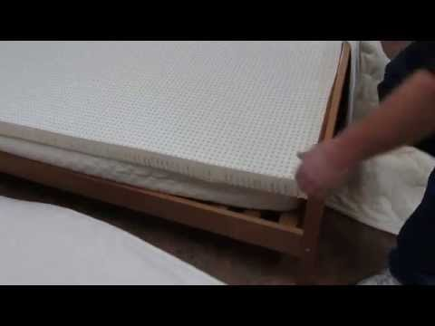 How to put a natural rubber (zip outer) mattress together