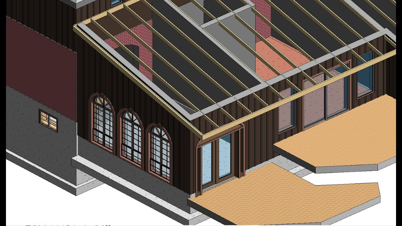 Rafter Framing W Autodesk Revit Extensions Youtube