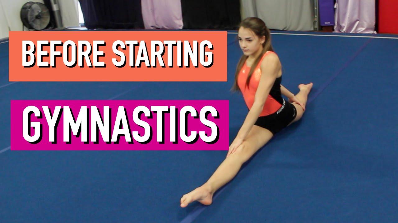an adult Starting gymnastics as