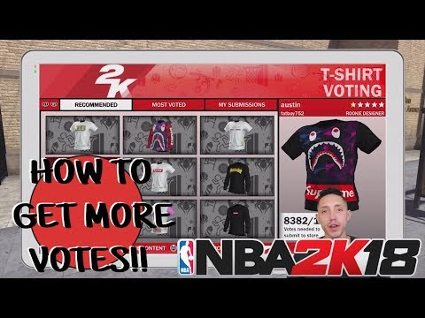 NBA 2K18 Custom T-Shirts
