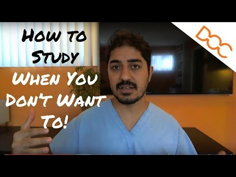 How To Study When You Don't Want To – The Power of Habits