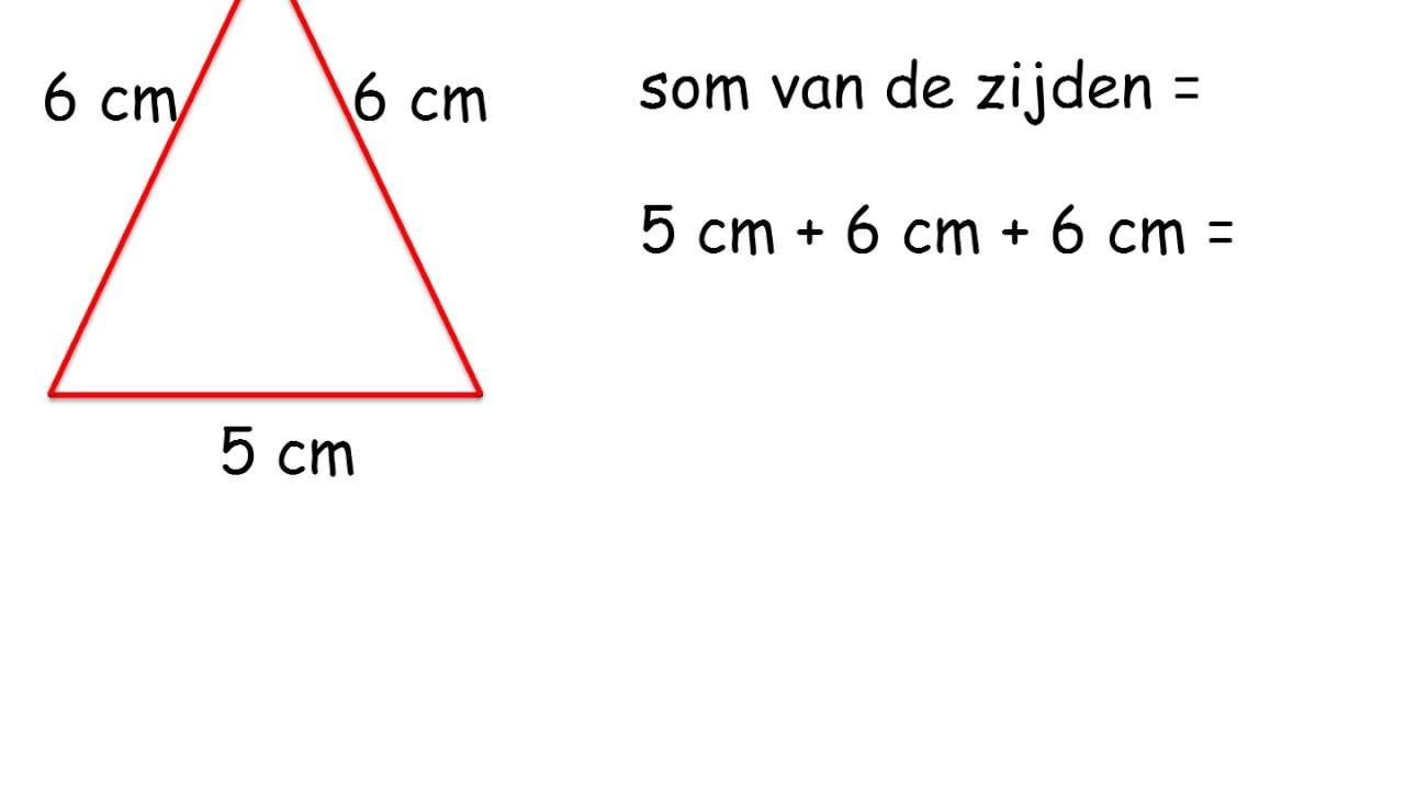 omtrek vierkant