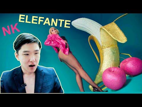 NK - ELEFANTE — Реакция Корейца на Просмотр Украинского Клипа