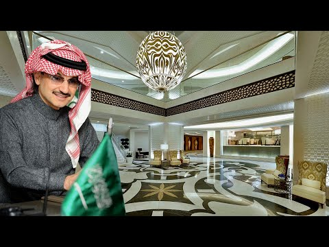 Saudi Arabia Prince Alwaleed bin Talal Lifestyle,Hotel,Private Jets,Yacht & Unknown Facts