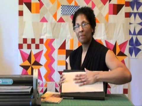 Ebony love accuquilt videos