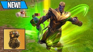 BANISHING KIDS AS THANOS - HIGH KILL SOLOS ONLY! (Fortnite Avengers Infinity Gauntlet)