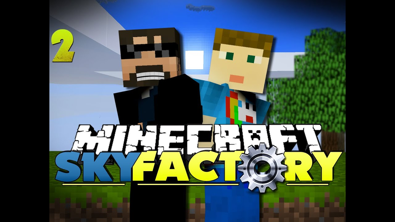 Minecraft Modded Skyfactory 2 We Have Feces Youtube