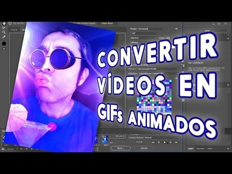 Convertir vídeos en GIFs animados con Photoshop