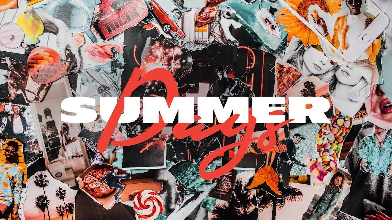 Martin Garrix feat  Macklemore & Patrick Stump of Fall Out Boy - Summer  Days (Lyric Video)
