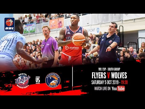 2019-20 BBL Cup, South Group: Bristol Flyers V Worcester Wolves - 5 Oct 2019