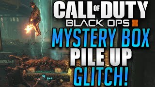 Black Ops 3 Zombie Glitches - Shadows Of Evil Mystery Box Pile Up Glitch! (BO3 Zombie Glitches)