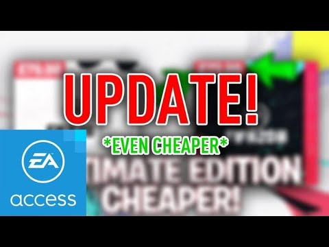 How To Get Fifa 20 Ultimate Edition Even Cheaper With EA Access & CDkeys