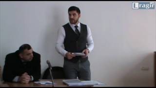 Երվանդ Վարոսյանն ընդդեմ փաստաբանների պալատի