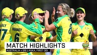 Australia romp to 16th consecutive ODI win | First CommBank ODI