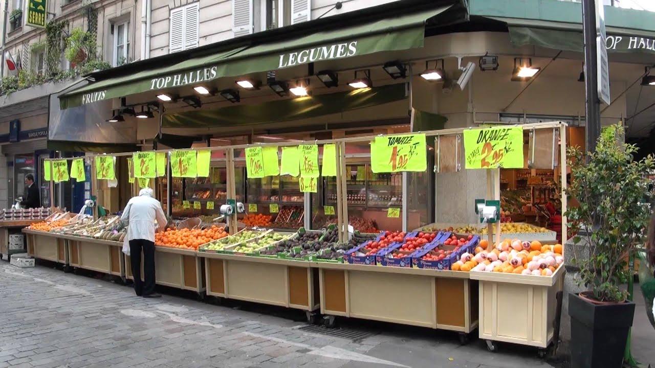 Rue cler in paris youtube for Steve s garden market