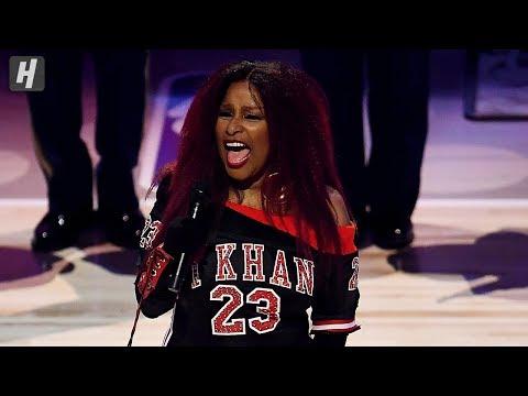 Chaka Khan's long national anthem at NBA All-Star Game draws ...