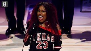 Chaka Khan Sings the National Anthem - 2020 NBA All-Star Game